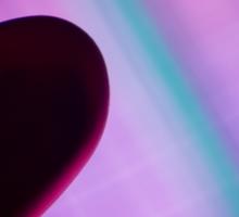 Heart Silhouette Sticker