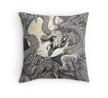 The Gwiber of Penmachno Throw Pillow