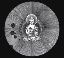 """Buddhagramma - Flying Lotus """"Cosmogramma"""" Inspired Art T-Shirt"""