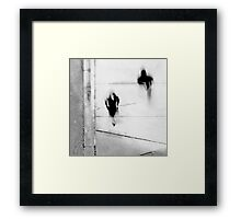 Self-Protection (If You Look Me In The Eye Will You See Me?) Framed Print
