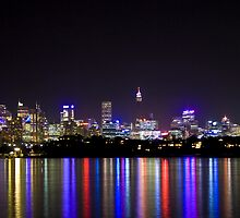 Sydney at night by albyphotos