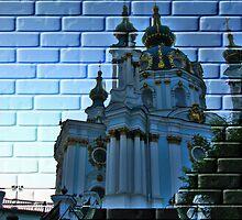 Kiev, Andreevskaya Church  by LudaNayvelt
