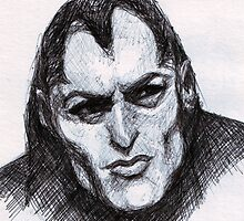 Gothic Man Sketch by DreddArt