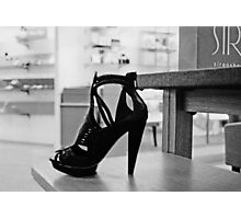 SIR shoe Photographic Print