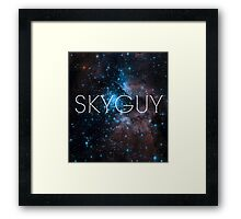 Skyguy (space version) Framed Print