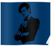 Doctor Who - 11th Doctor (Tardis Blue) Poster