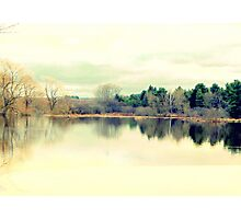 Serenity of the lake Photographic Print