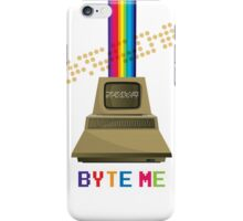 Byte me! iPhone Case/Skin