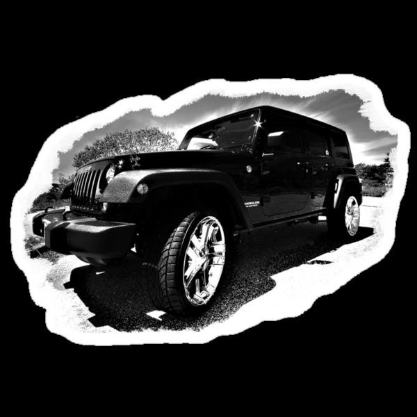 Black Jeep by capecodart