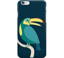 TOUCAN WITH RED NAILS iPhone Case/Skin