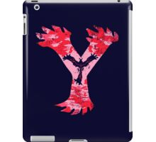 Yveltal Pokemon Y iPad Case/Skin