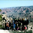 School Excursionists Against The Grand Canyon. by cjkuntze