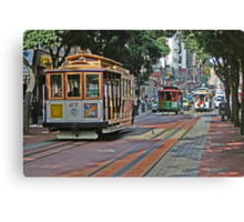 Cable Cars Canvas Print