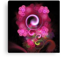 'Nestled in Lightflowers' Canvas Print