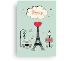 Paris! Joie de vivre Canvas Print
