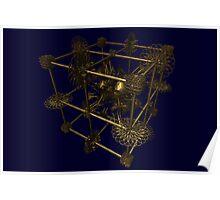 Cubenoid attack of the circles Poster