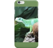 Lime & Coconut (Fiji Banded Iguana) iPhone Case/Skin