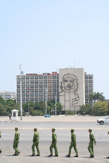 plaza de la revoluccion, havana, cuba by nickaldridge