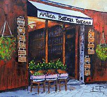 Antica Bottega Toscana - Italian Cafe by lisaelley