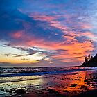 Fire In The Sky - Burleigh Heads Qld by RhondaR