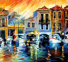 After A Day's Work — Buy Now Link - www.etsy.com/listing/224730439 by Leonid  Afremov