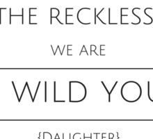 The Wild Youth Sticker