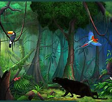 Rainforest Rapture by sunshine0