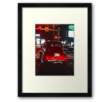 Saturday Night Cruiser Framed Print