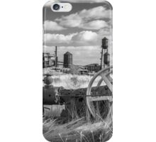 The Old Lumber Mill BW iPhone Case/Skin