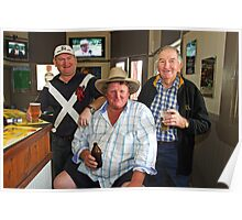 Bobby O'Brien, Nobby McMahon & Kevin Slater Poster
