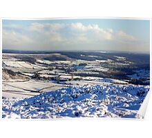 Views of the North Yorks Moors National Park #6 Poster