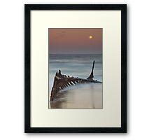 The Cruel Sea Framed Print