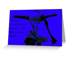 Sociopath Greeting Card