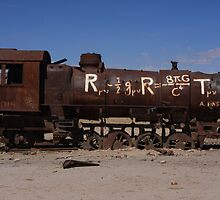 train cemetery, bolivia by nickaldridge