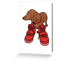 Jeff in Red Octobers Toon Greeting Card