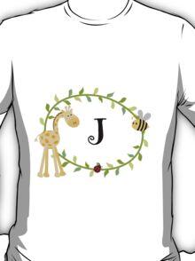 Nursery Letters J T-Shirt