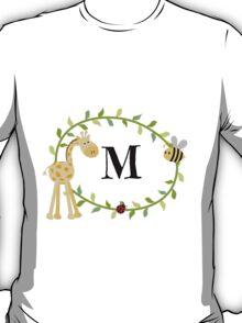Nursery Letters M T-Shirt