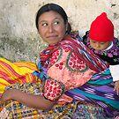 MOTHER AND CHILD - GUATEMALA by Michael Sheridan