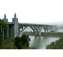 Disappearing Act  - The Rogue River  Photographic Print