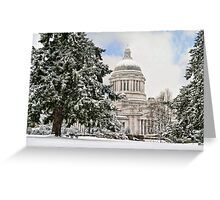 Winter Capitol  Greeting Card