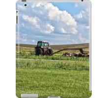 Vehicle On A Farm iPad Case/Skin