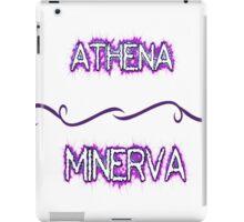 Athena & Minerva iPad Case/Skin