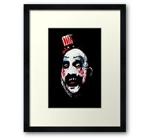 Super Secret Clown Business Framed Print