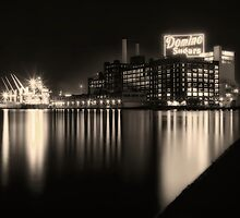 Domino Sugars Factory in Baltimore, Maryland by Andrew Vox