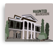 haunted mansion.. new orleans square Canvas Print