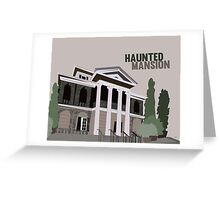 haunted mansion.. new orleans square Greeting Card