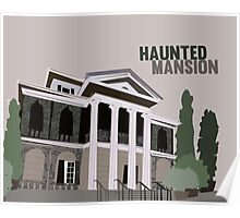 haunted mansion.. new orleans square Poster