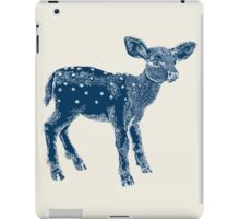 Dear Deer Indigo on Vanilla iPad Case/Skin