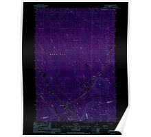 Maine USGS Historical Map Wytopitlock 103128 1988 24000 Inversion Poster