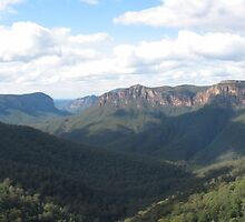 Govett's Leap - Grose Valley by Sam Atwood